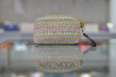 Cosmetiquera woven (tejida) Precio al mayor: $4.000 Precio unidad: $6.000