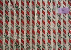 USED Christmas Wrapping Paper Vintage 1940s 1950s 1960s (Lot 17) | eBay