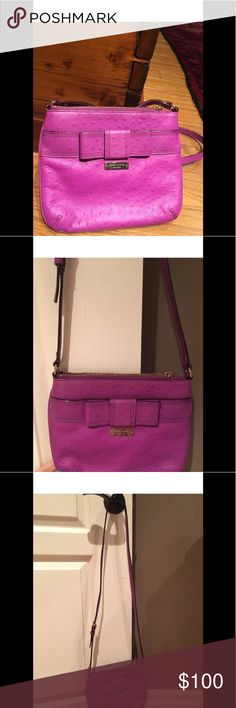 Kate spade bow purse New without tags Never been worn Crossbody bag  I ship on Tuesdays. Please let me know if you need it earlier. Thanks! kate spade Bags Crossbody Bags