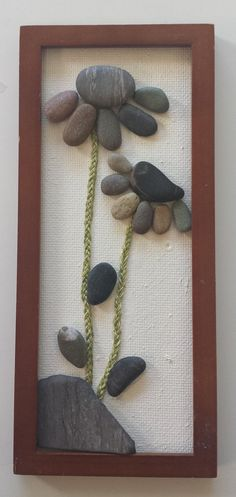 Stone Art Pebble Art Rock Art 3D Art Unique Gift