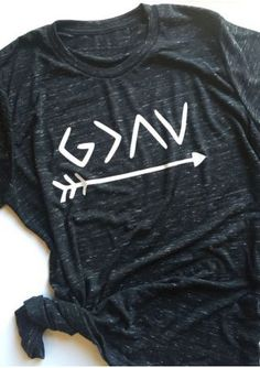 God Is Greater Than The Highs And Lows Faith T-Shirt