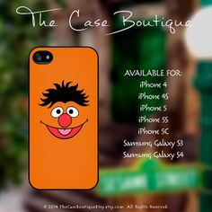 Ernie  Sesame Street Case iPhone 4 4S 5 & by TheCaseBoutiqueEtsy, $14.99