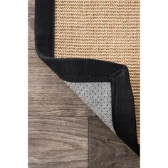 There is a beauty to simplicity which can easily be found in nuLOOM Beige Orsay Sisal Rug Area Rug. This exquisitely Machine Woven rug is a versatile piece, made of 100% Sisal that delivers on the quality promised by nuLOOM. Features: - Made of 100% sisal - Machine woven construction for indoor/outdoor use - Made in china - Your choice of rug size