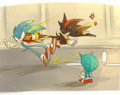 Sonic Classic Sonic Shadow