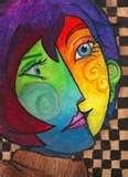 Picasso artwork - color blending