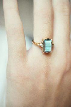 Anna Sheffield Ring - Labradorite Bea Ring   BONA DRAG