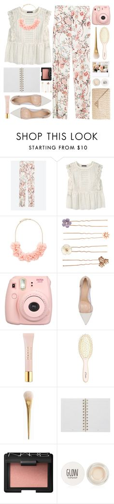 """#869 Joy"" by blueberrylexie on Polyvore featuring Zara, Violeta by Mango, Forever 21, Accessorize, Gianvito Rossi, AERIN, L. Erickson, Mulberry, NARS Cosmetics and Topshop"