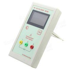 MK-328 Transistor Tester Capacitor ESR Inductance Resistor Meter LCR NPN PNP MOS Sale - Banggood.com