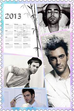 Marco Mengoni 2013 Calendar