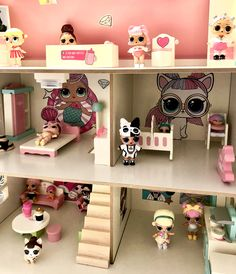 Beautiful Paint Color Lol Doll House Furniture Photos : Beautiful Paint Color Lol Doll House Furniture Photos - Paint Color Lol Doll House Furniture and Lol Surprise Doll House Doll Furniture, Dollhouse Furniture, Toys For Girls, Kids Toys, Diy For Kids, Crafts For Kids, Jojo Siwa Birthday, Cool Tree Houses, Toy Story Birthday