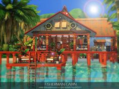Lot: Found in TSR Category 'Sims 4 Residential Lots' Sims Love, The Sims 4 Lots, Sims Building, Building Ideas, Sims 4 House Design, Sims House Plans, Casas The Sims 4, The Sims 4 Download, Sims 4 Build
