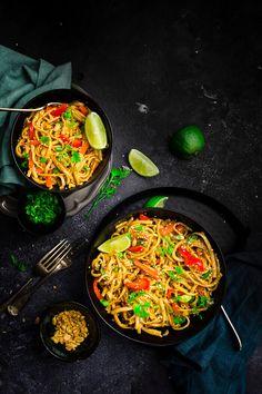 insant pot thai peanut noodles recipe