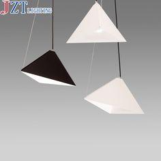 M Minimalistischen Geometrischen Design E27 Weiß/Schwarz Lampe Wohnzimmer  Restaurant Büro Bar Wohnzimmer Schmiedeeisen Kronleuchter