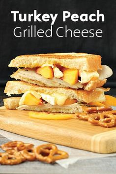 Nothing complements creamy Brie cheese like sweet fruit, so you'll love the unique flavors of this fall-friendly grilled cheese recipe. It's the perfect solution to your Thanksgiving turkey leftovers too, while providing a refreshing twist. Whether you're cooking lunch for one or many, this recipe is fantastic! Keep Bounty Paper Towels close at hand, because this ooey-gooey recipe is deliciously messy.