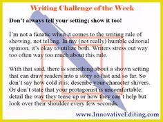 """Who Died and Made """"Show, Don't Tell"""" a Creative Writing God?"""