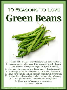 Green beans can boost the energy levels naturally! Green Beans Benefits, Vegetable Benefits, Fruit Benefits, Health Benefits, List Of Vegetables, Healthy Vegetables, Raw For Beauty, Turmeric Smoothie, Nutrition Classes