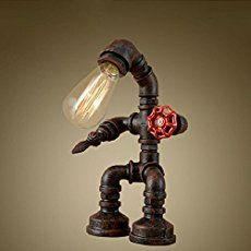 Industrial Pipe Lamp Have you seen the 'industrial pipe lamps', which seem to be one of the new trends?  They have a Steampunk look, don't they?  Yes, they are so unique!  They also have a hefty price on them but how difficult would one of these be to make at home?  And at what cost? … … Continue reading →