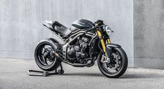 'Metal Speed Solid' Triumph Speed Triple Cafe Fighter - GB Motors 94 - Pipeburn.com