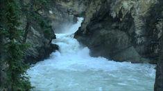 Lower Sunwapta Falls, Icefields Parkway, Jasper National Park ...