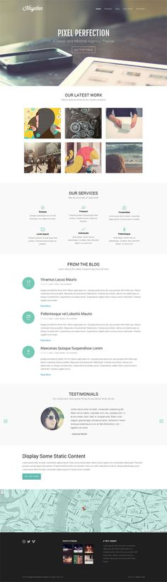 Hayden, A Professional Agency WordPress Theme
