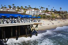 Restaurant on San Clemente Municipal Pier. Great place to enjoy cocktails with a great view. #California