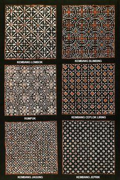 Nitik, Indonesia Batik Motif