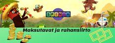 Spinia on viime vuona lanseerattu pelisivu, joka on saattavilla suomalaisille nytkin.