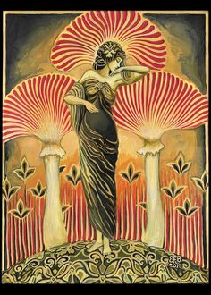 Hey, I found this really awesome Etsy listing at https://www.etsy.com/uk/listing/242323002/soma-goddess-mythology-art-nouveau