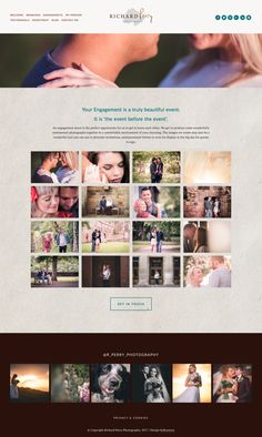 Website design in Squarespace for Richard Perry Photography | byRosanna