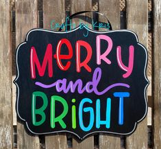Christmas Decorations For The Home, House Decorations, Christmas Ideas, Christmas Front Doors, Christmas Door, Hand Painted Signs, Painted Wood, Welcome Holidays, O Holy Night