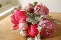 DIY Project: Peony Clutch Bouquet from Frolic | Wedding Ideas and Inspiration Blog