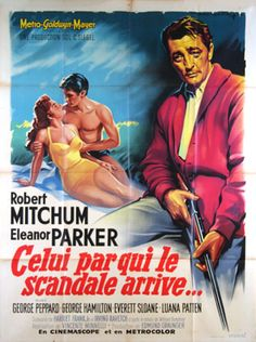 Home from the Hill 1961. French movie poster