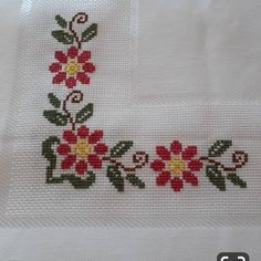 Cross Stitch Borders, Cross Stitch Flowers, Cross Stitch Patterns, Crochet Flowers, Cross Stitch Embroidery, Free Pattern, Handmade, Design, Cross Stitch Owl