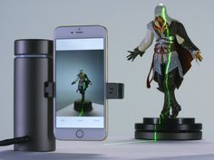 Eora 3D - highly accurate and affordable 3D scanner.