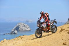 KTM are claiming their new 1290 Super Adventure R is the most extreme adventure bike ever made – and after a full day's riding in the blistering heat of Peru – I'm inclined to agree. But you don't