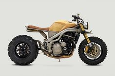 Meet Frank, a custom Triumph Speed Triple built for Rebel Yell by Classified Moto