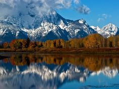 Mt. Moran, Wyoming