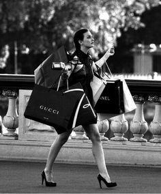 What i look like Christmas Shopping.