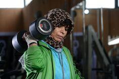 https://flic.kr/p/Ucn8NM | LIBYA-WOMEN/SPORTS-BODYBUILDING | Libya's only female bodybuilding champion Fathia Al-Amamy, 48, trains in a gym for an upcoming international tournament in Belarus, in Benghazi, Libya, April 20, 2017. Picture taken April 20, 2017. REUTERS/Esam Omran Al-Fetori