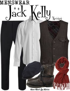Inspired by Christian Bale as Jack Kelly in 1992's Newsies.