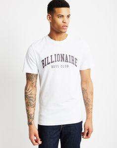 Billionaire Boys Club Ivy T-Shirt White| Shop men's street wear clothing at The Idle Man