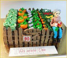 Torte Garten zum 90. Geburtstag