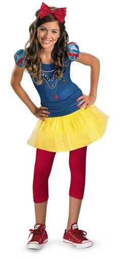 Princess Snow White Disney Costume for Tweens.