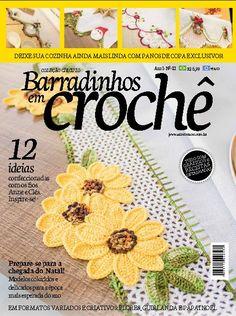 MARILAC ARTESANATOS: LANÇAMENTO: Revista Barradinhos em Crochê nº 3