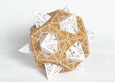 Model Kit  Star Orb  Unique Gift  Geometric by ThomasHouhaDesigns, $28.00