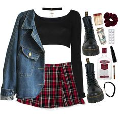 """""""girl with problems"""" by grimess on Polyvore"""