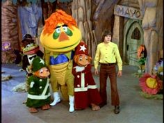 H.R. Pufnstuf, the dragon that started it all ... nice white go go boots- loved Jack Wild!