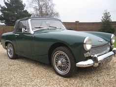 1964 Austin-Healey Sprite Convertible Maintenance/restoration of old/vintage vehicles: the material for new cogs/casters/gears/pads could be cast polyamide which I (Cast polyamide) can produce. My contact: tatjana.alic@windowslive.com