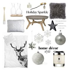 """""""The Night Before Christmas"""" by barngirl ❤ liked on Polyvore featuring interior, interiors, interior design, home, home decor, interior decorating, Lands' End, Jo Malone, By Nord and Pier 1 Imports"""
