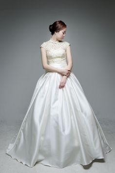 2015년 봄 신상 웨딩드레스 K-21 [라렌느] 셀프웨딩드레스